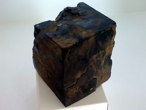 Limonitized pyrite